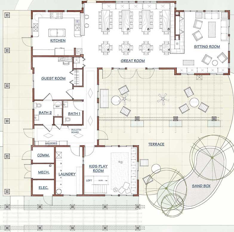 play house floor plans
